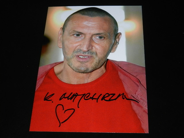 Super cena - Autograf- Majchrzak Krzysztof
