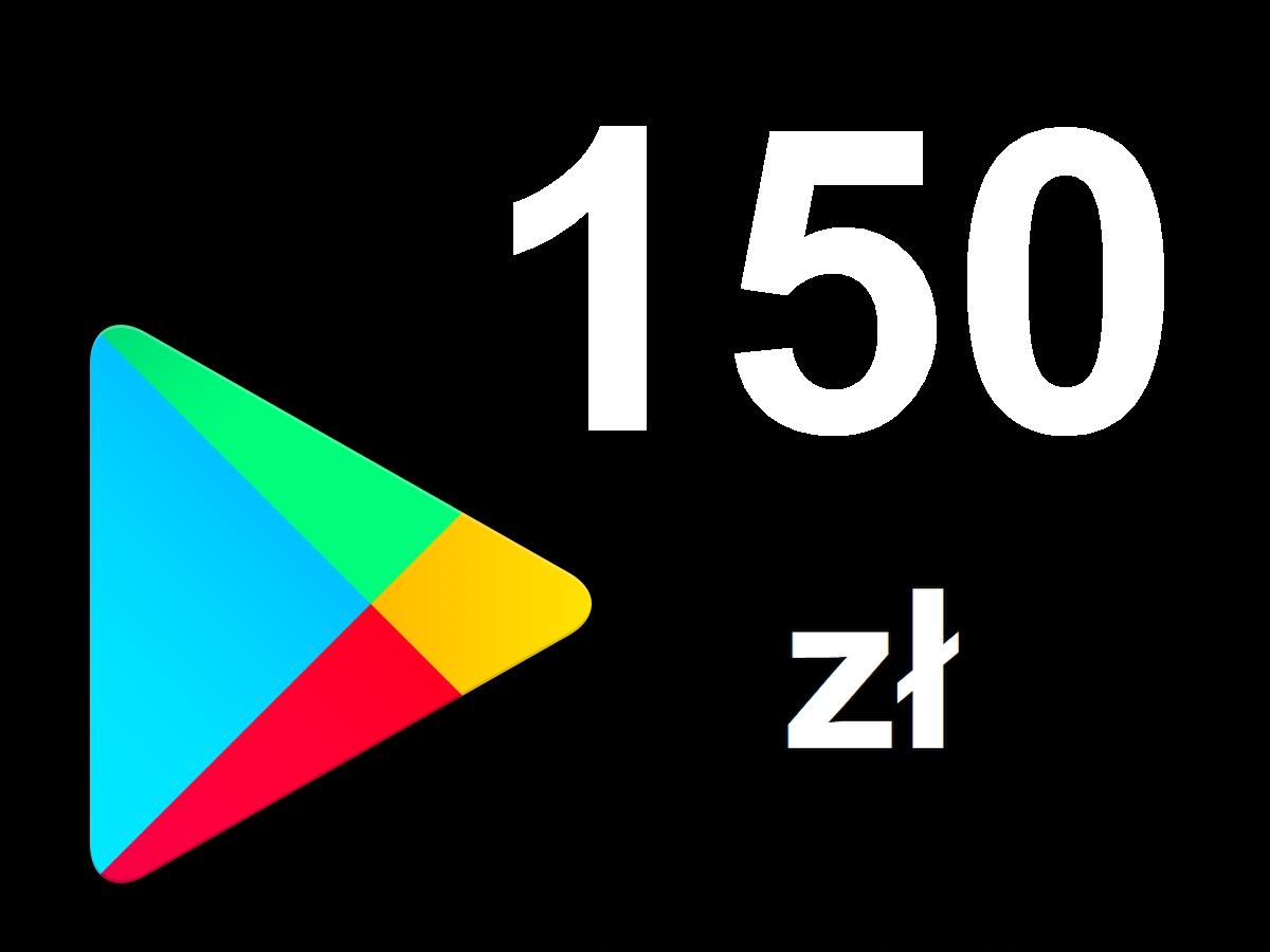Karta Google Play 150zł Kod Prepaid Klucz Android