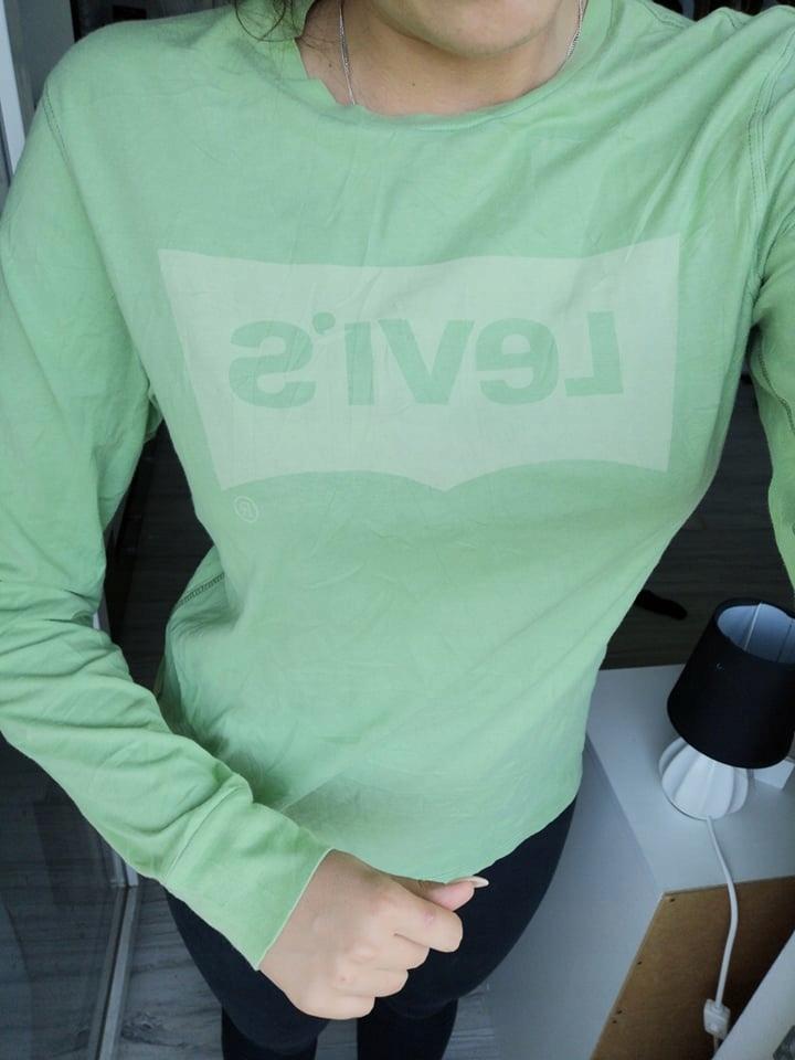 Limonkowa Bluzka Levis M/L