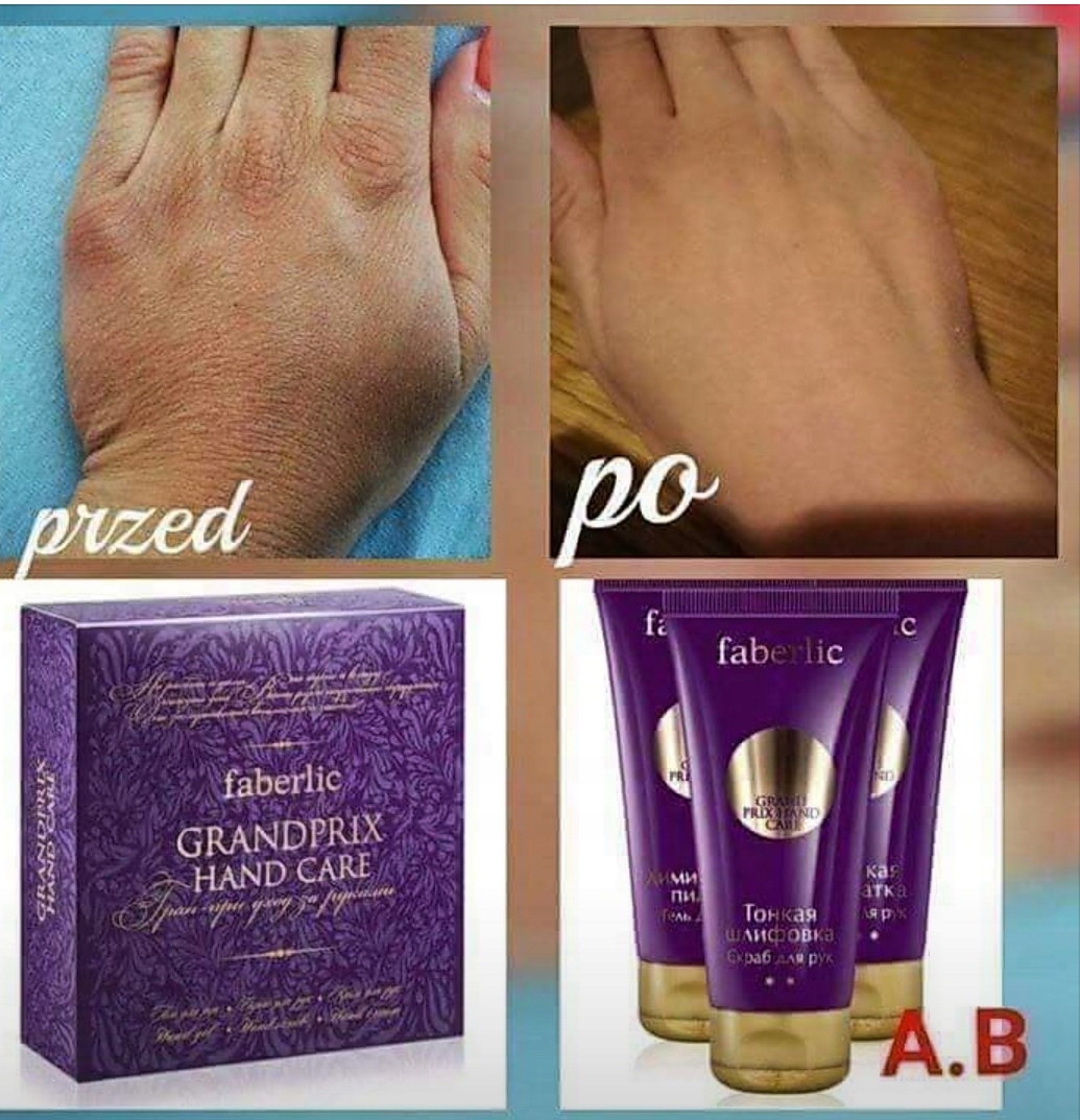 Peeling do rąk Grand Prix Faberlic HIT!
