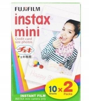 ColorFilm Instax Mini Glossy(10/2) wkład (2pak)