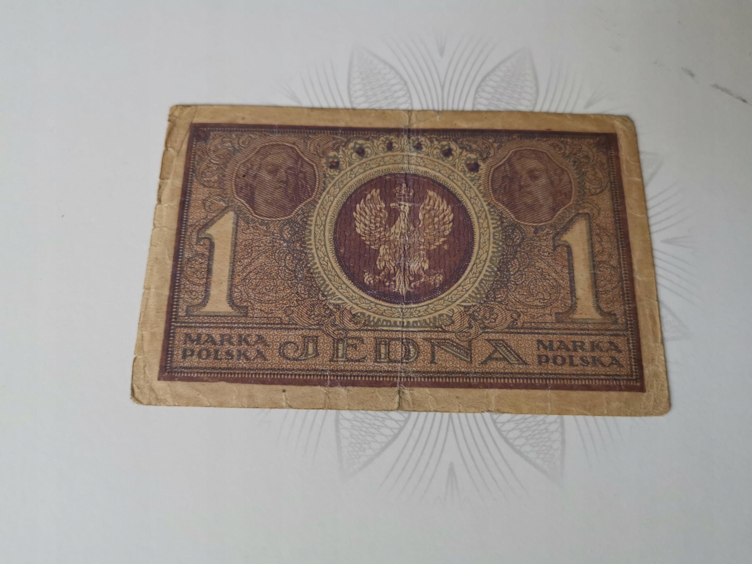 1 Marka Polska IAG 1919r