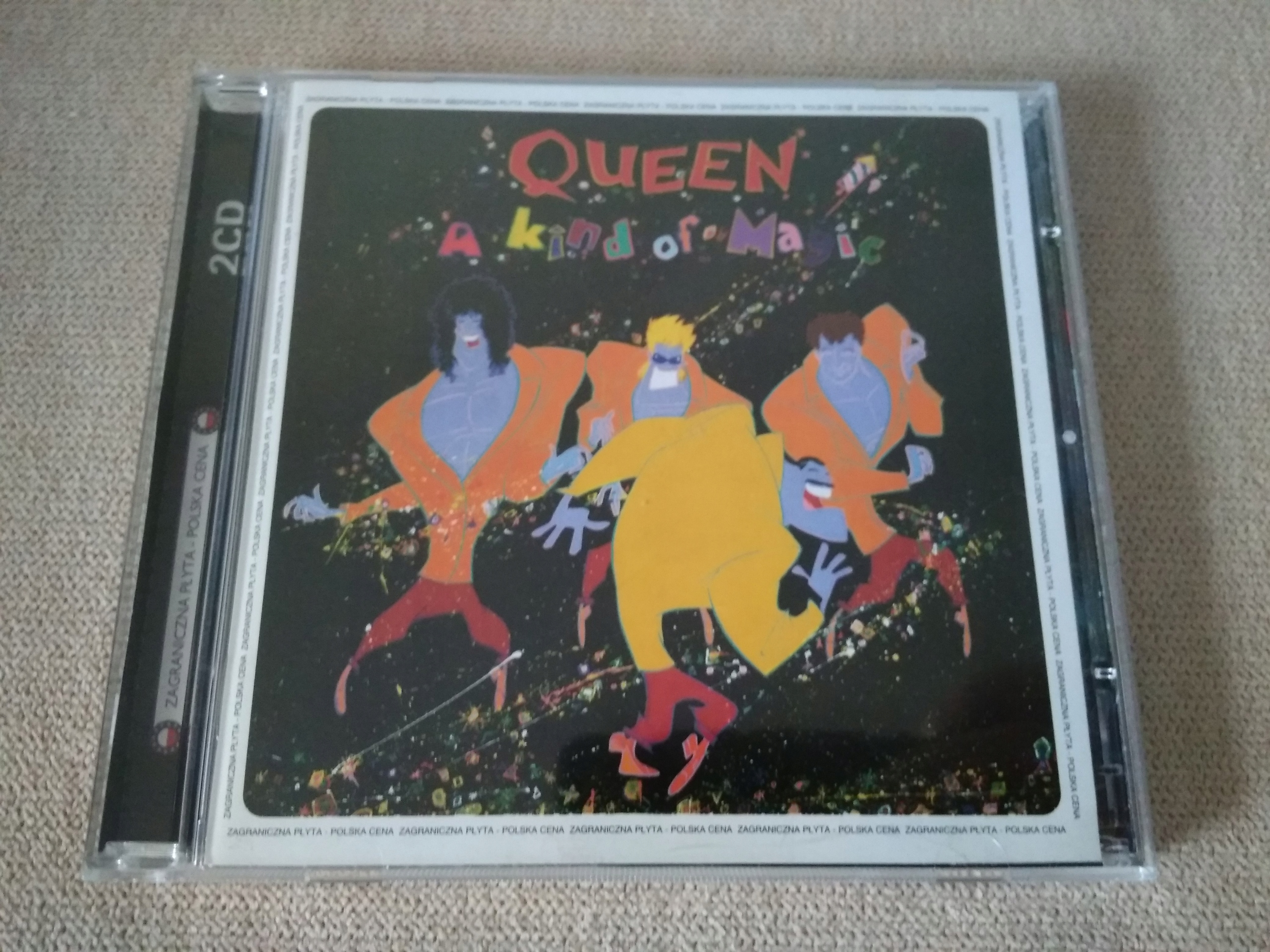 QUEEN A KIND OF MAGIE CD BCM !