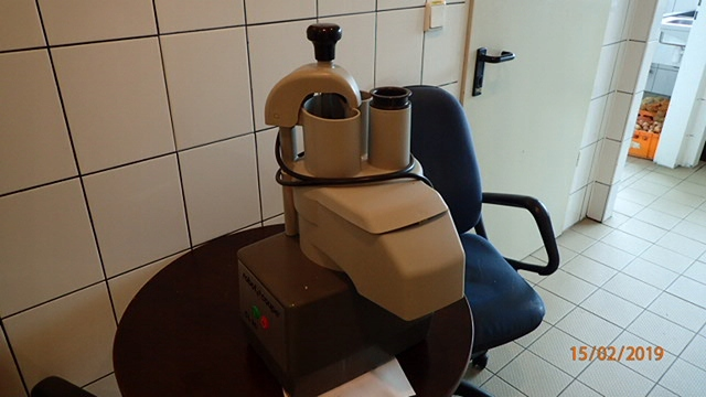 Nowy robot gastronomiczny (bez tarcz).