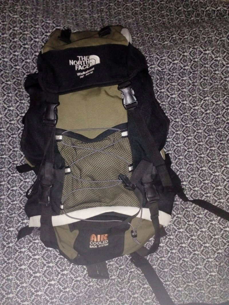 PLECAK SURVIVAL The North Face Walkabout ND 45+10