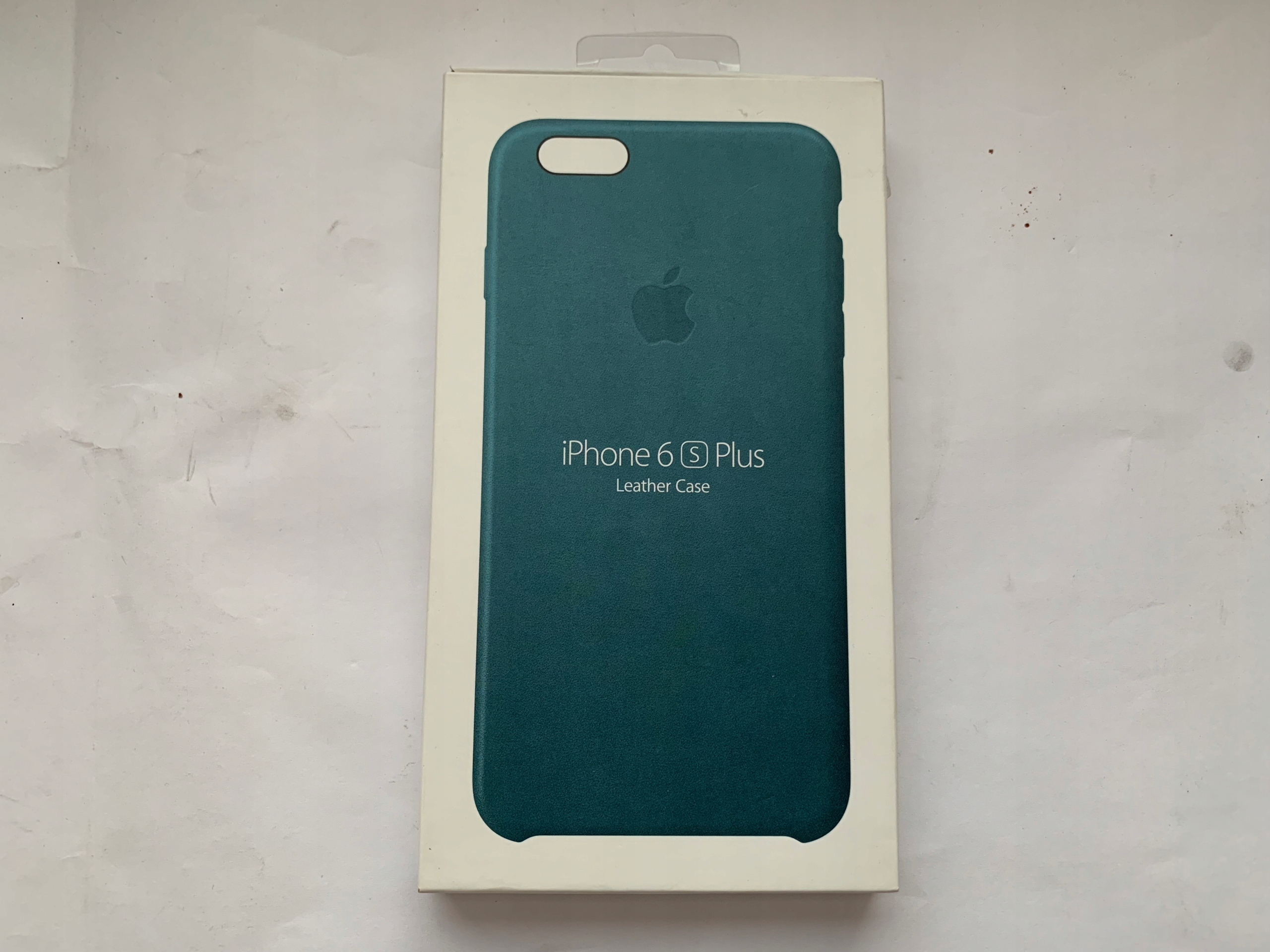 the best attitude 461e1 b579e Apple Leather Marine Blue Apple iPhone 6 6S Plus - 7858096867 ...