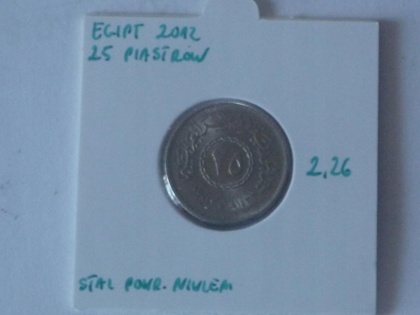 25 piastrów 2012 Egipt st.I-