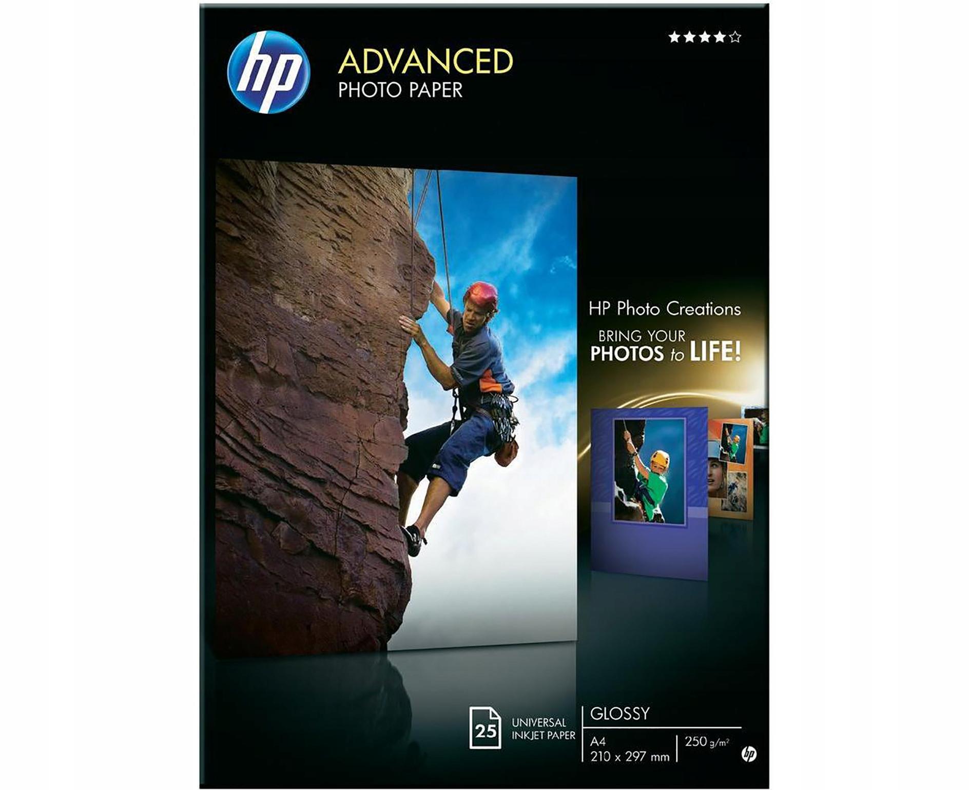 Papier HP Advanced 250 A4