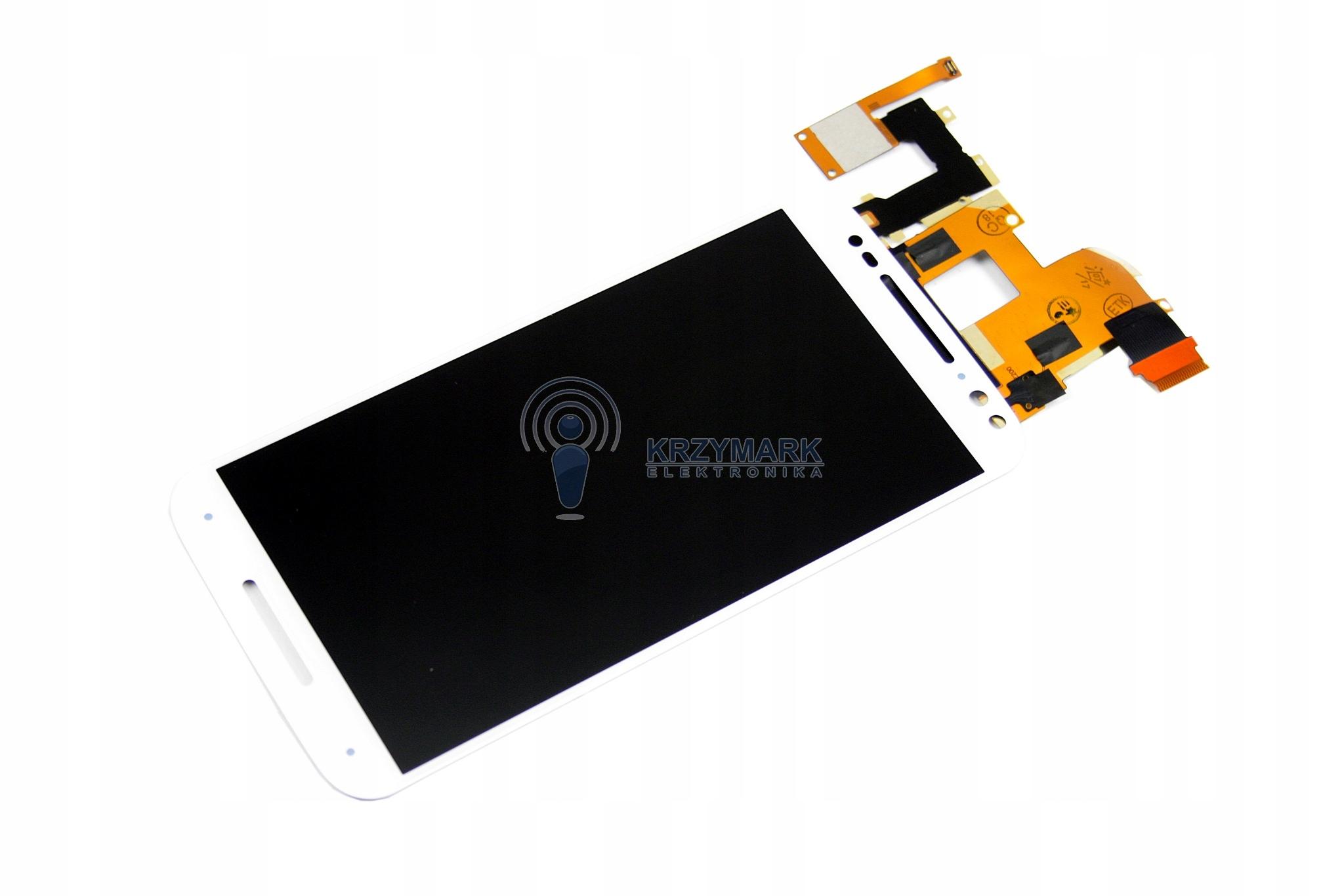 WYŚWIETLACZ LCD MOTOROLA X STYLE XT1572 NOWY DOTYK