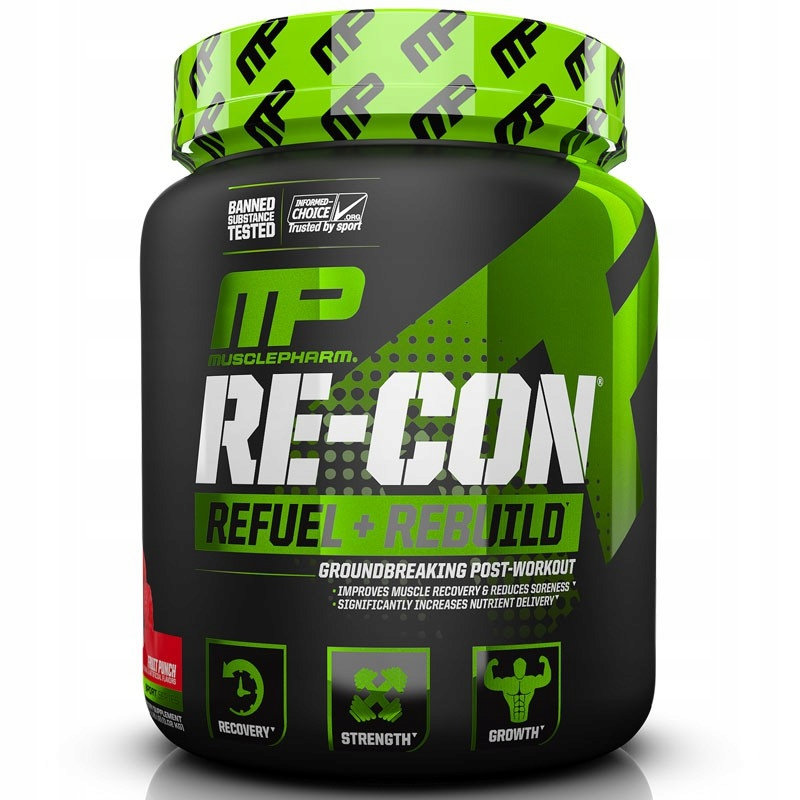 MUSCLE PHARM Re-Con REFUEL + REBUILD 1200g ORANGE