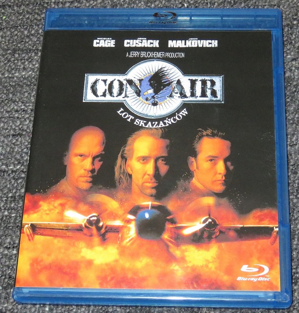Blu-Ray : Con Air - lot skazańców (1997)