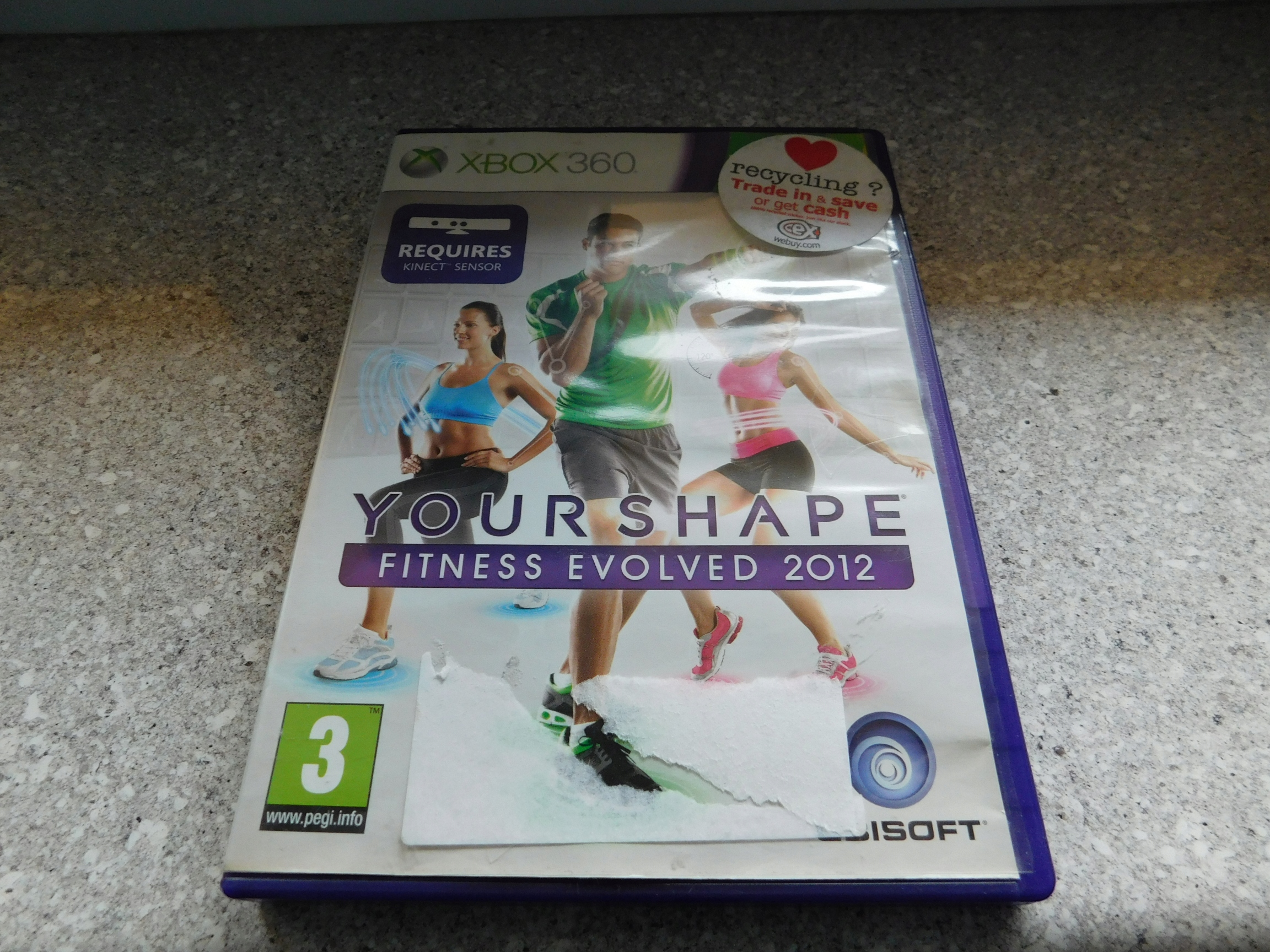Your Shape Fitness Evolved 2012 Gra na Xbox 360