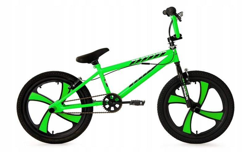 KS Cycling BMX-Bike zielony rower 20 cali