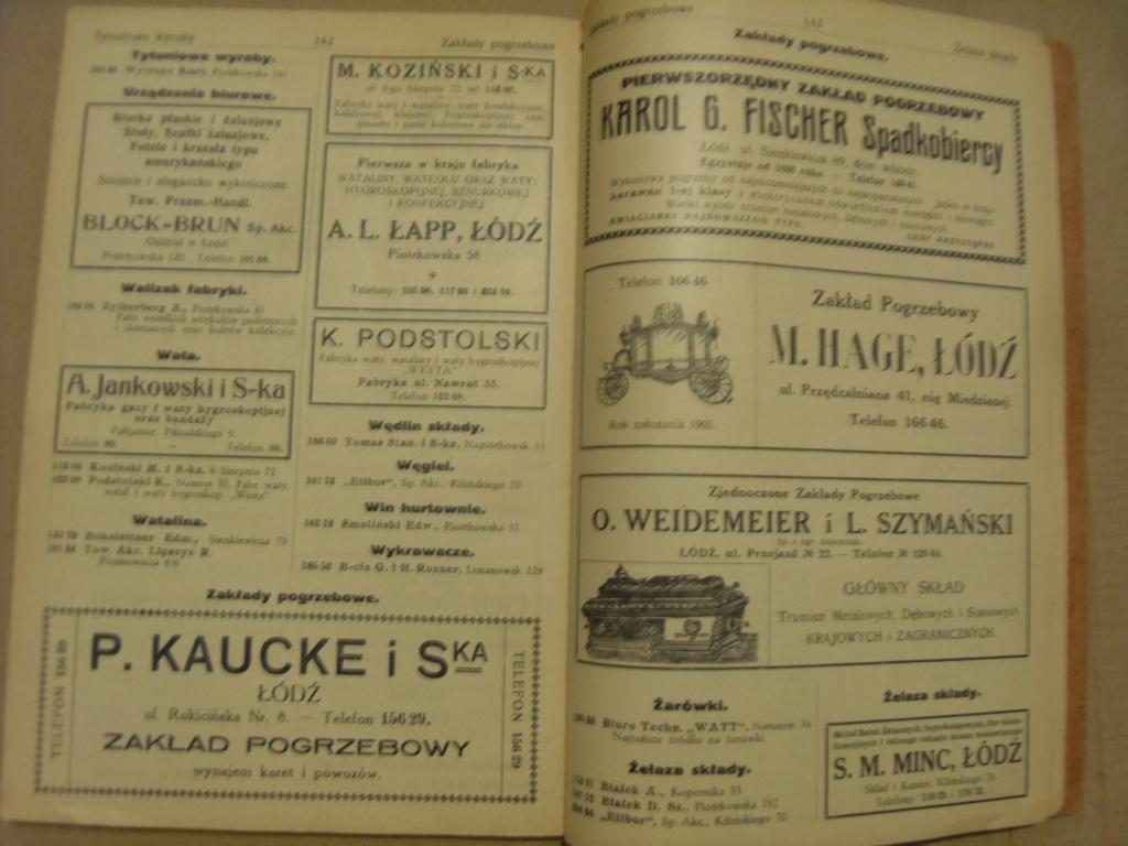 Stara książka telefoniczna