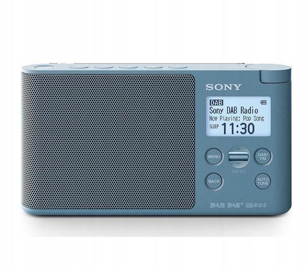 Radioodbiornik Sony XDR-S41D (niebieski) DAB DAB+