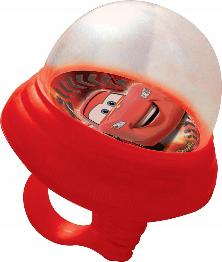 Piszczałka trąbka rowerowa Cars Auta Disney