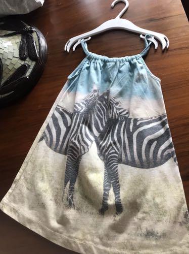 Sprzedam sukienkę słodka cudo zebra r.110 zara
