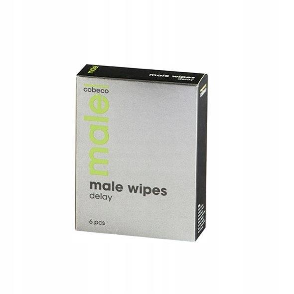 Chusteczki opóźniające - Male Wipes Delay 6 x 2,5