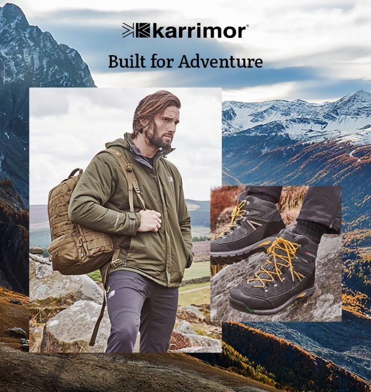 KARRIMOR OUTDOOR spodnie trekingowe góry