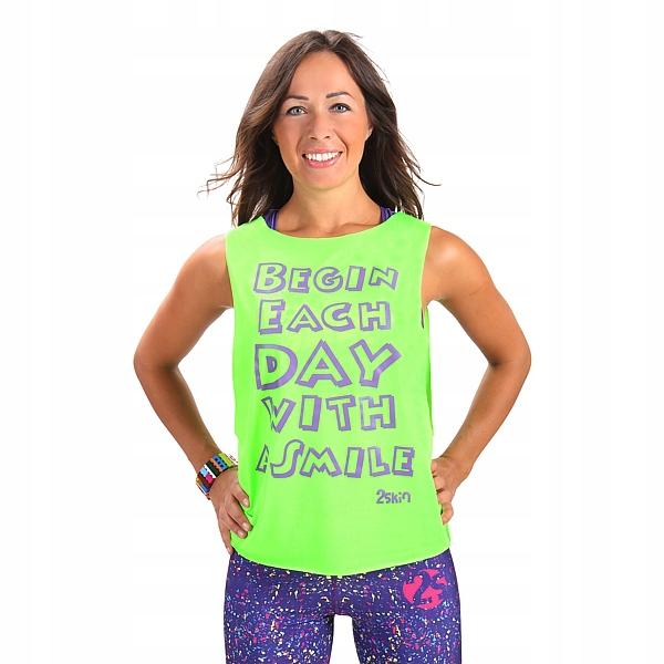 Koszulka damska fitness narzutka top 2skin r M