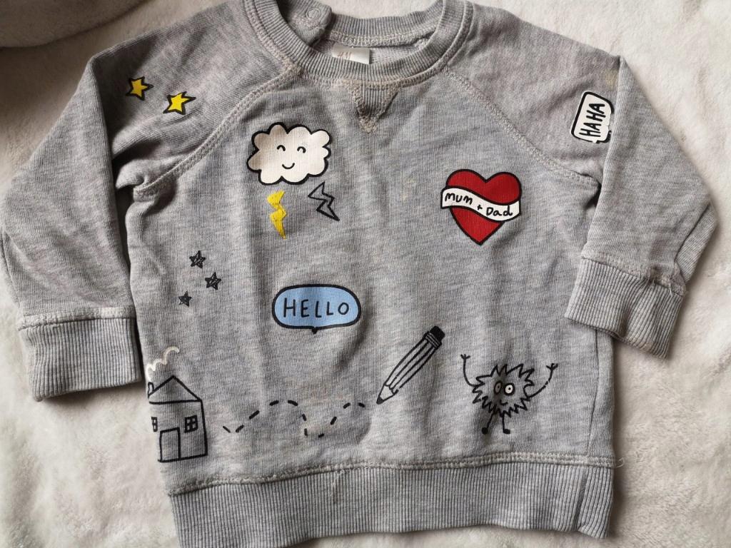 bluza dziecięca H&M 74