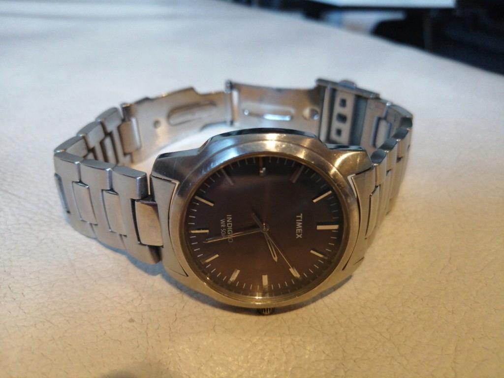 Timex zegarek męski Indiglo WR50