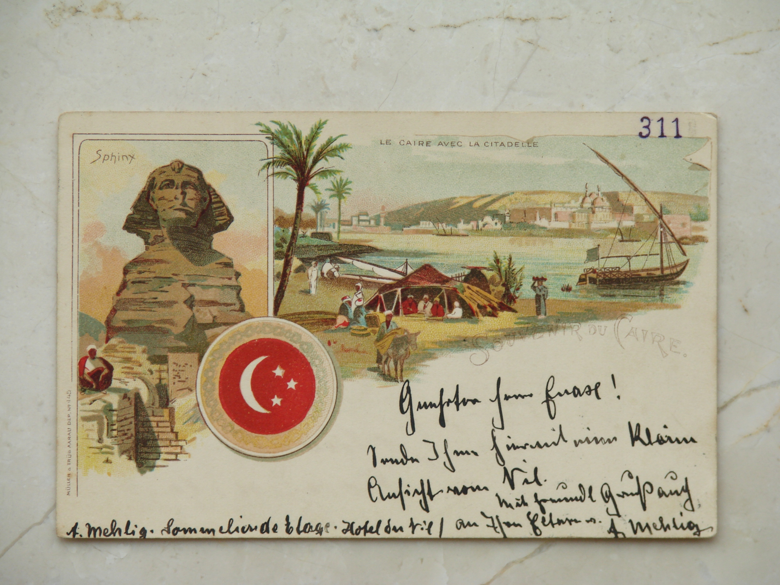 Egypte - Caire - Egipt - Kair - 1897 rok