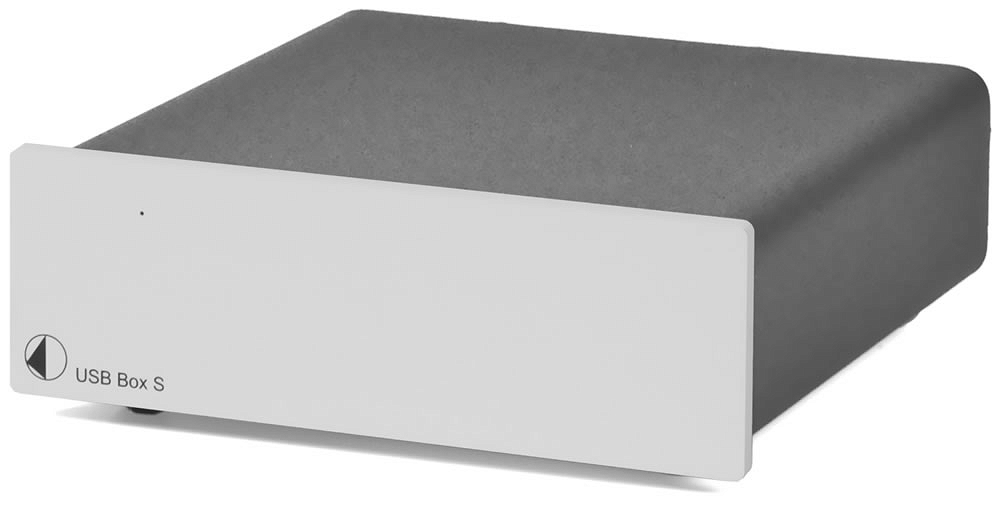Pro-Ject USB Box S Przetwornik cyfrowo ana srebny