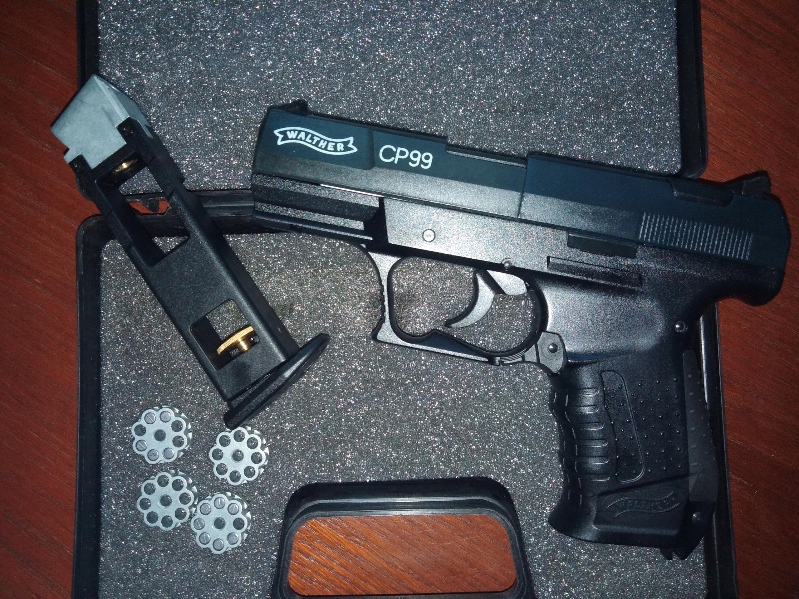 Wiatrówka Walther CP99