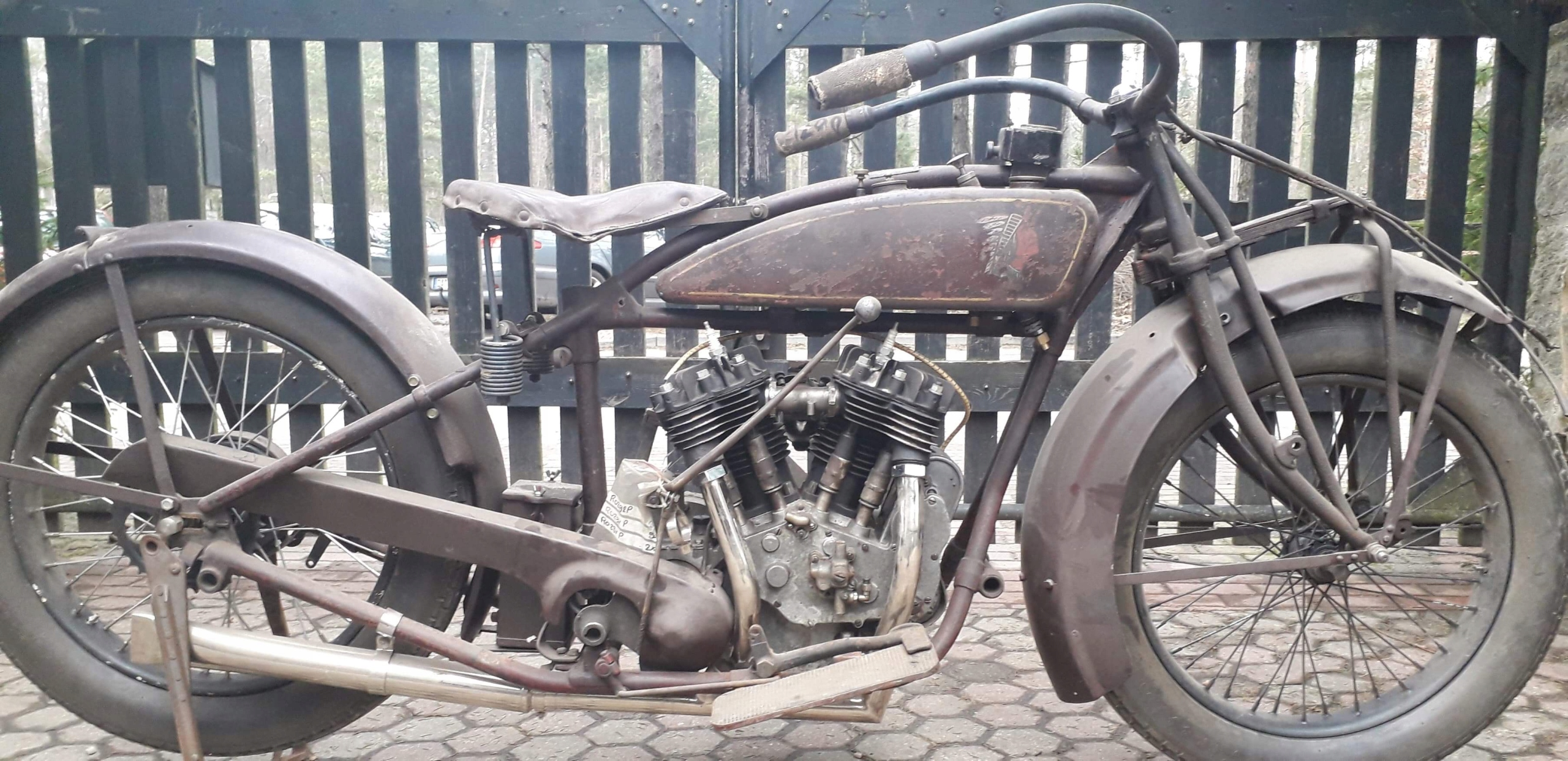 Indian Chief 1927r. BMW, Sokół, Harley, Zundapp