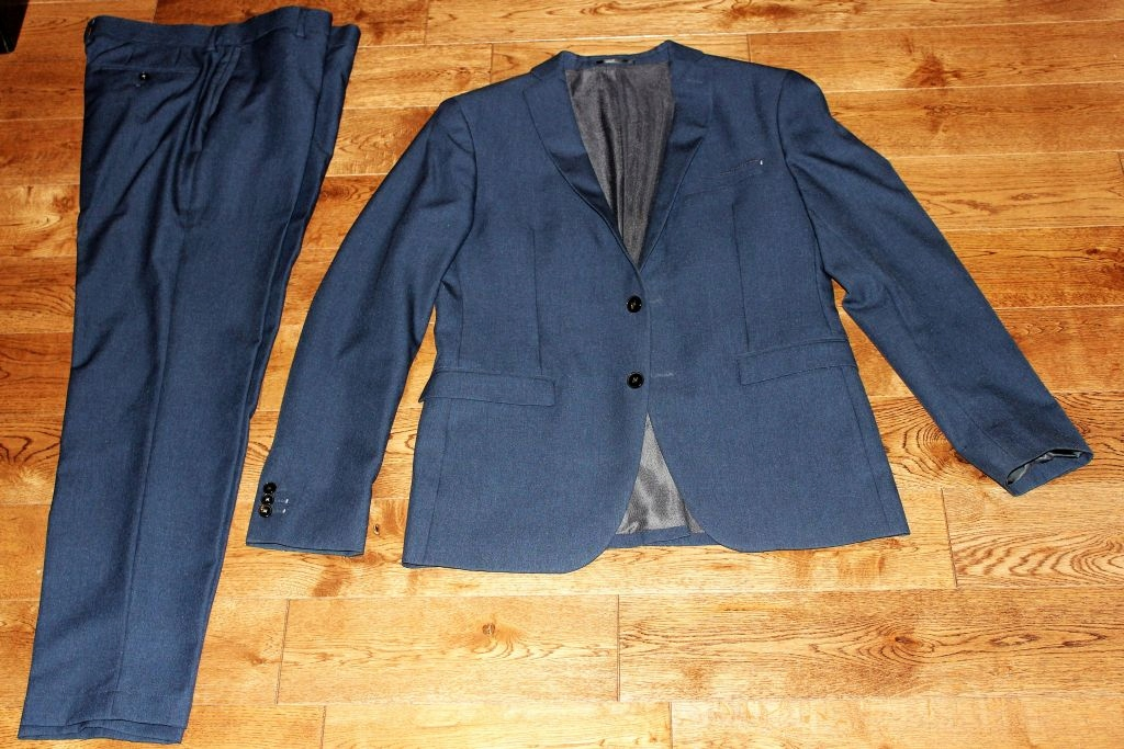 Nowy garnitur ZARA Suit Collection tailored fit