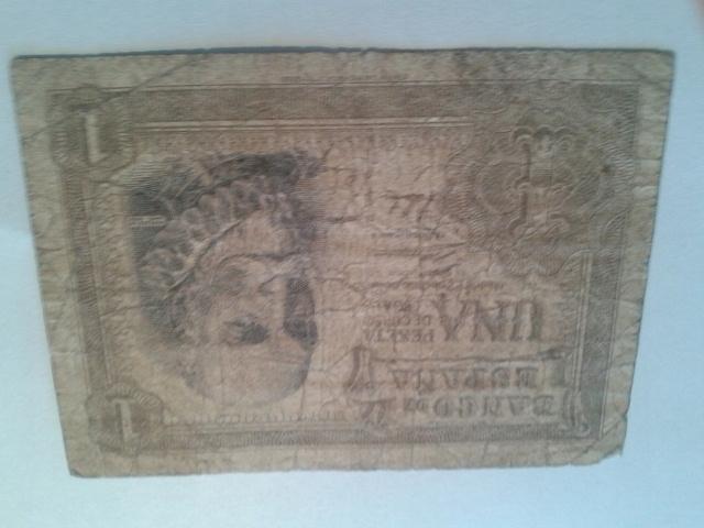 HISZPANIA 1 PESETA 1953 R