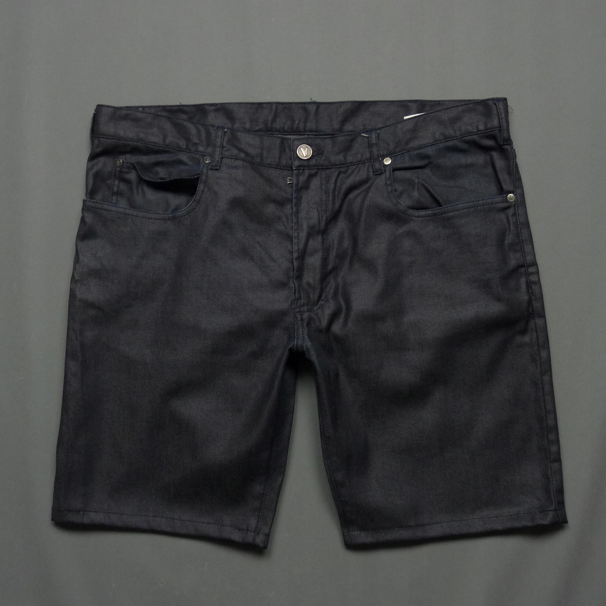 VERSACE jeansowe spodenki bermudy premium W36