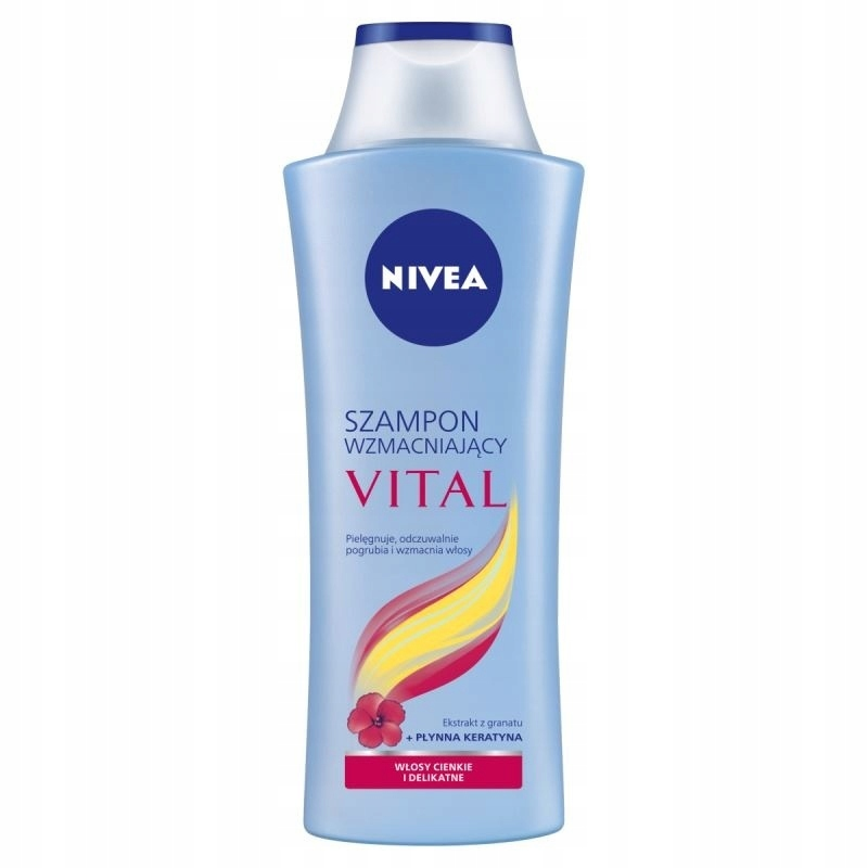 NIVEA VITAL SZAMPON WZMACNIAJĄCY do włosów delikat