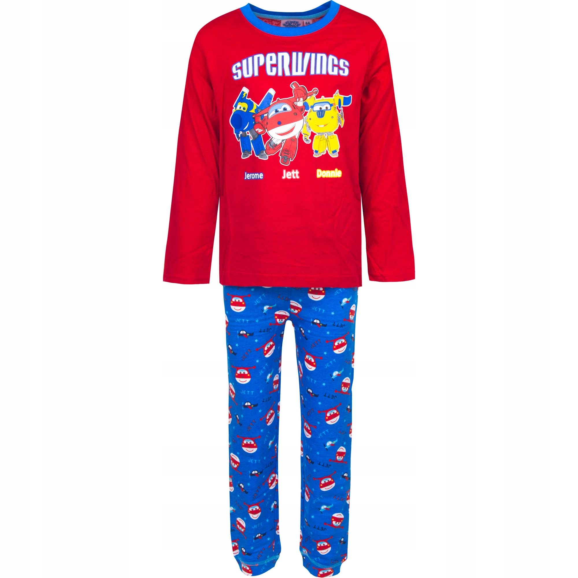 Bawełniana piżama piżamka Super Wings 98