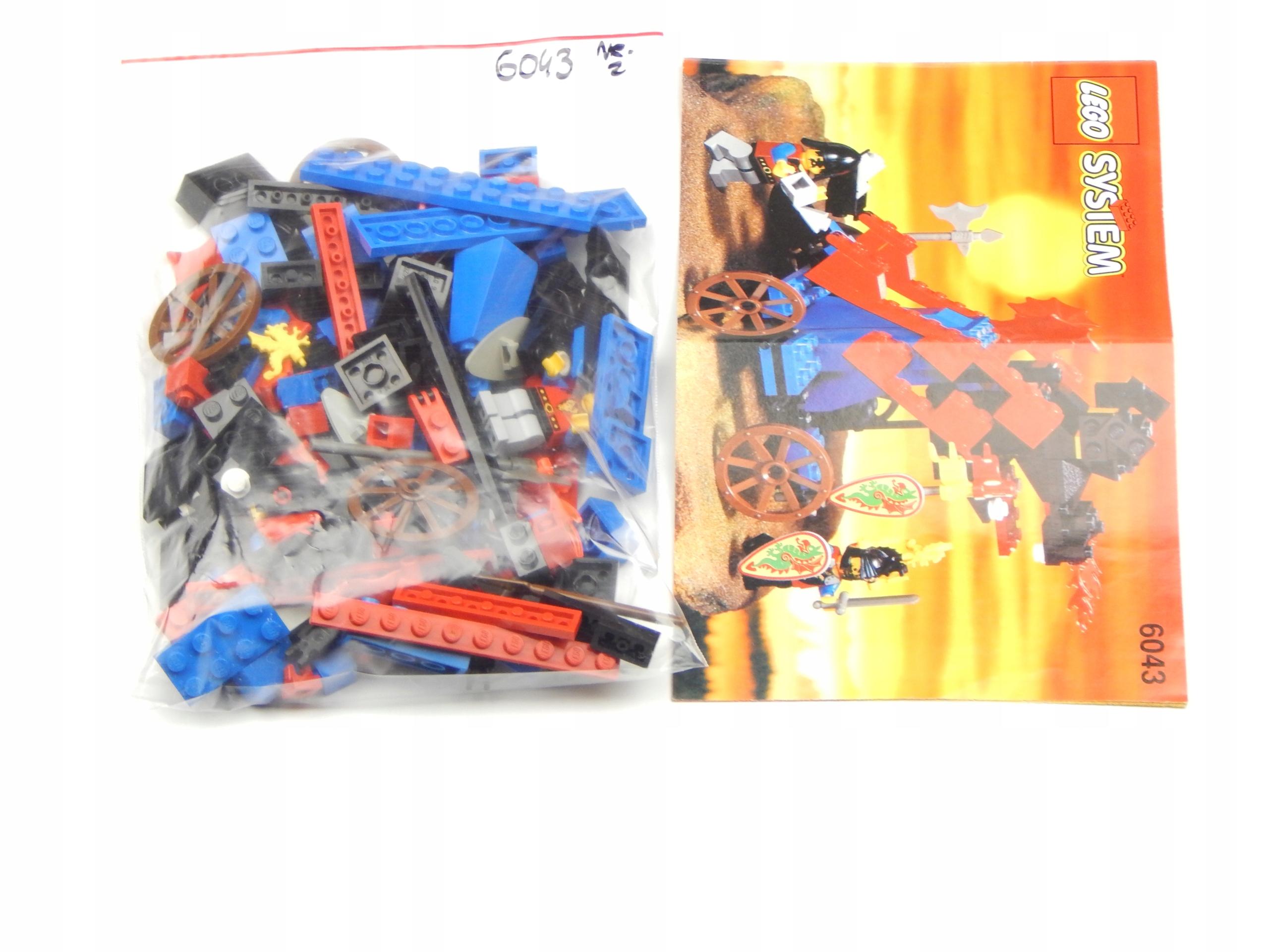 LEGO SET 6043 CASTLE INSTRUKCJA UNIKAT SUPER STAN