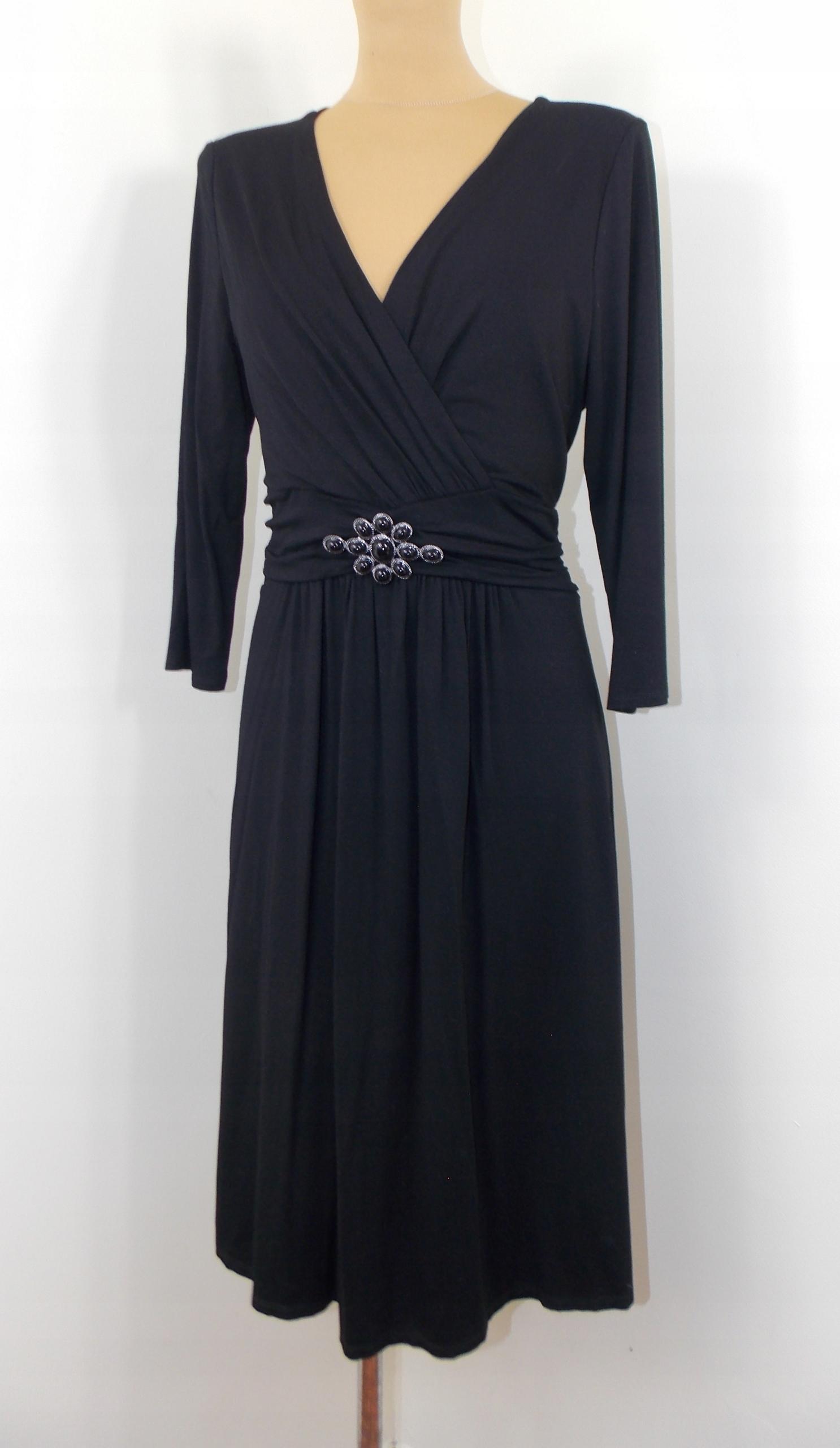 sukienka LEWIS styl ZARA elegancka klasyczna 42