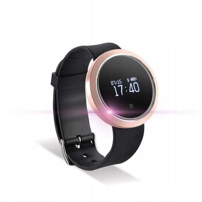 Smartwatch bransoletka SB-310 różowo-złoty NEW