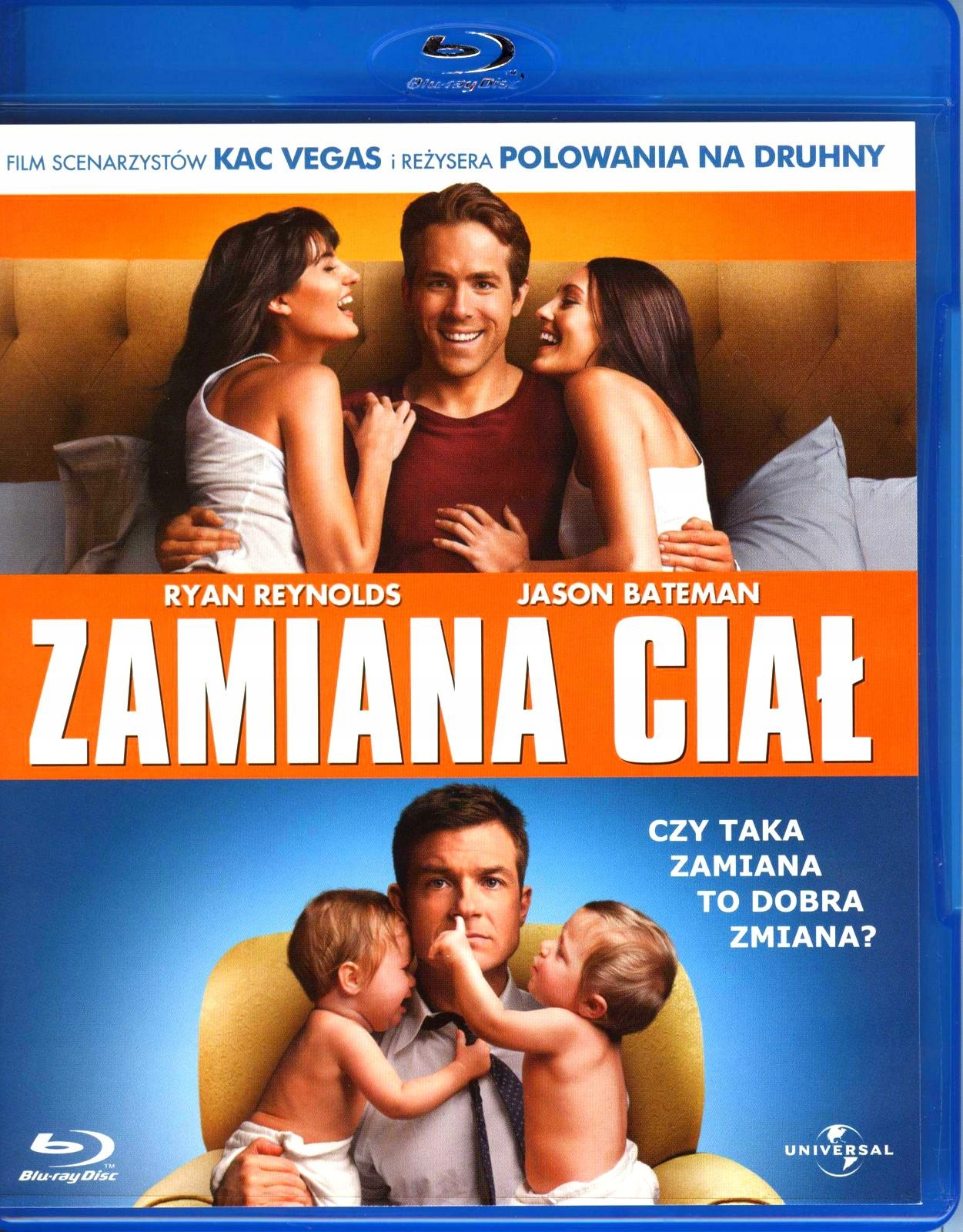 ZAMIANA CIAŁ BLURAY