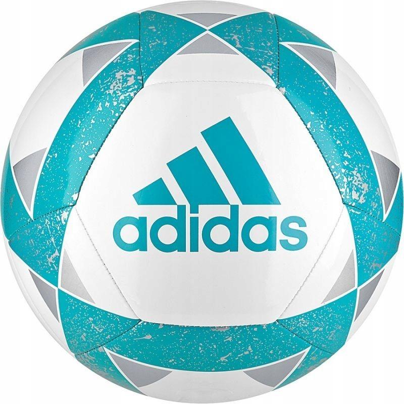 Piłka nożna adidas Starlancer V CW5342 R 4