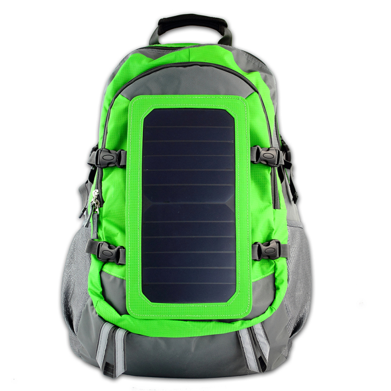 Plecak 40l 6 kieszeni z panel solar USB podróżny