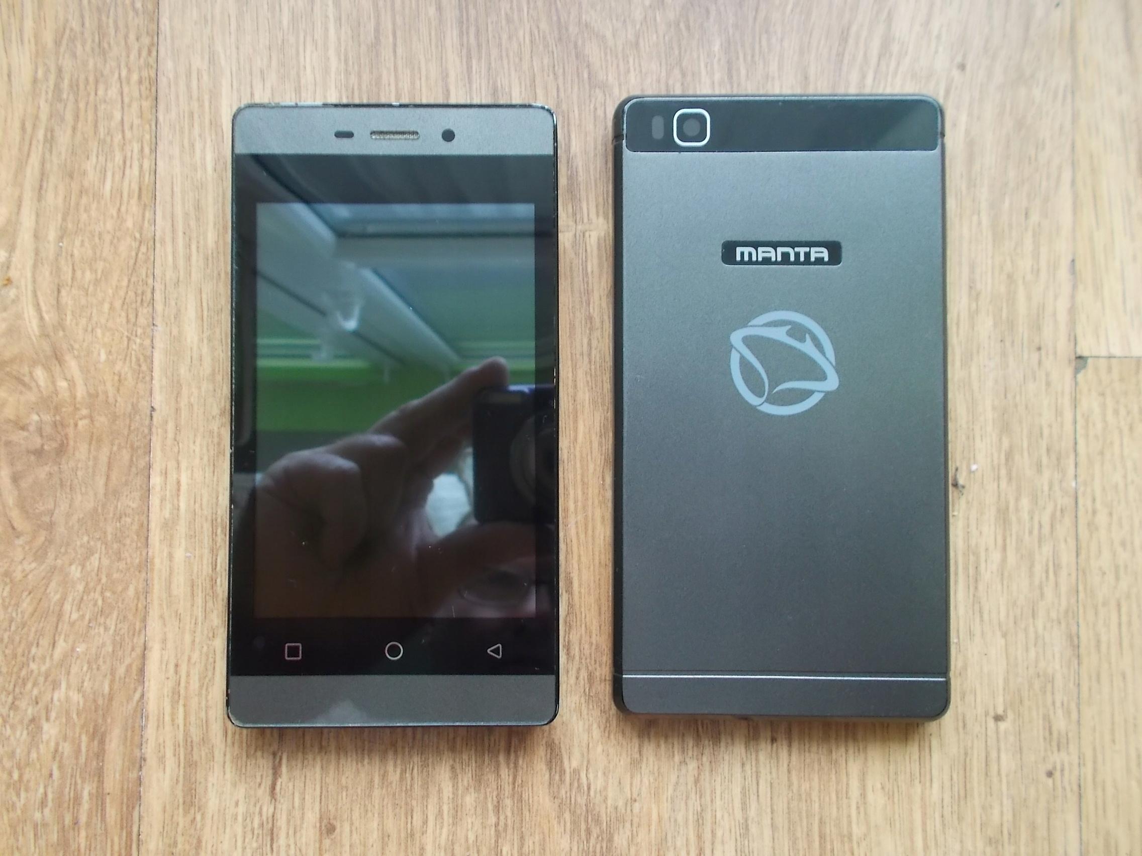 Telefon MANTA 4091S - Komplet