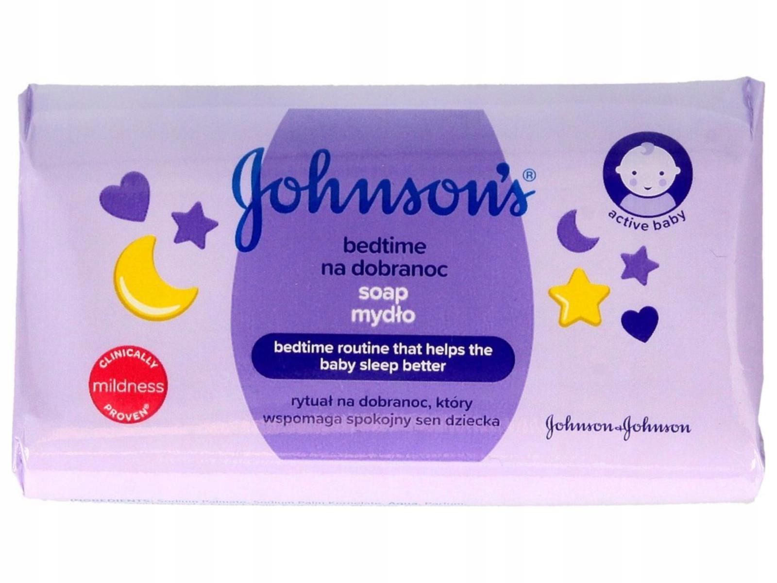 Johnson's Baby Bedtime Mydło w kostce dla 100g