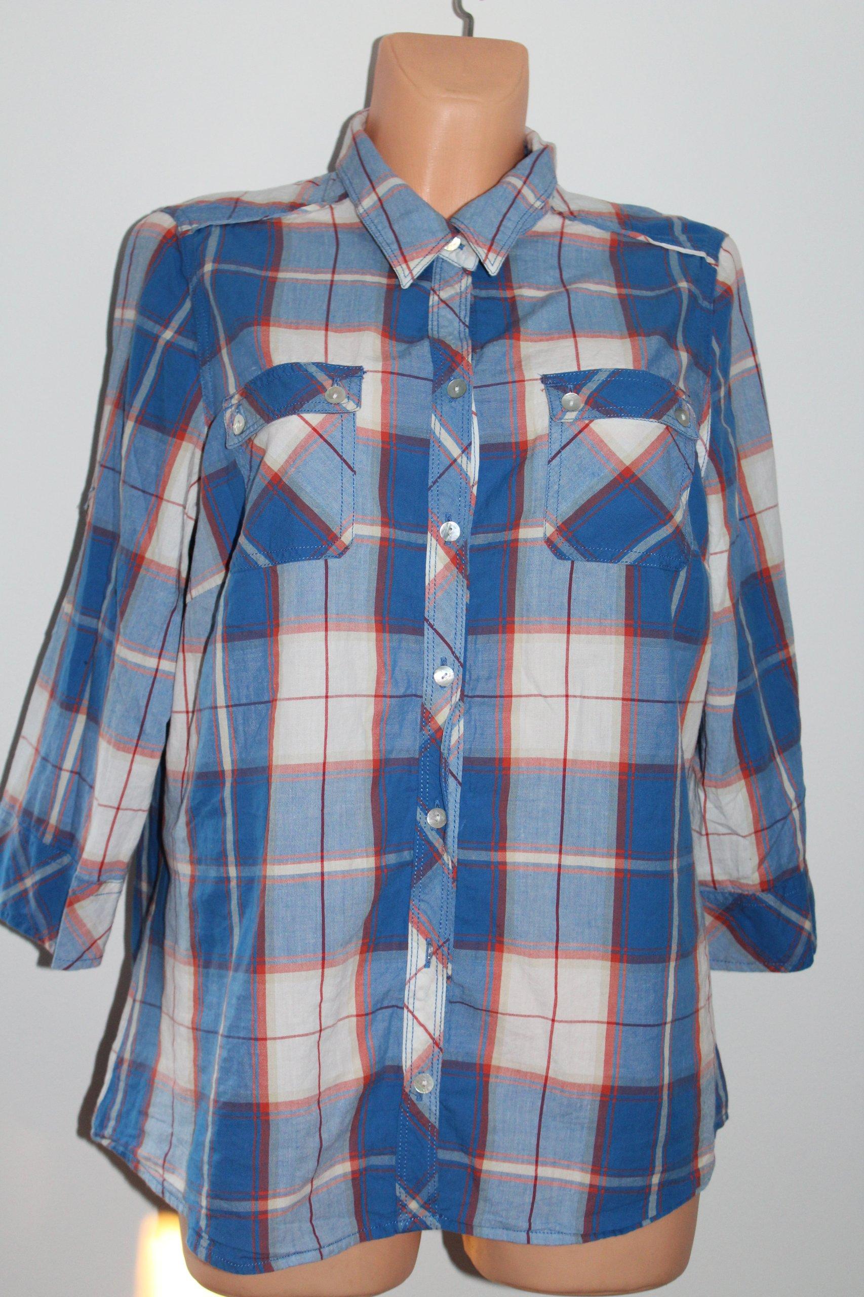 M&S modna BLUZKA bawełniana KOSZULA 46_48