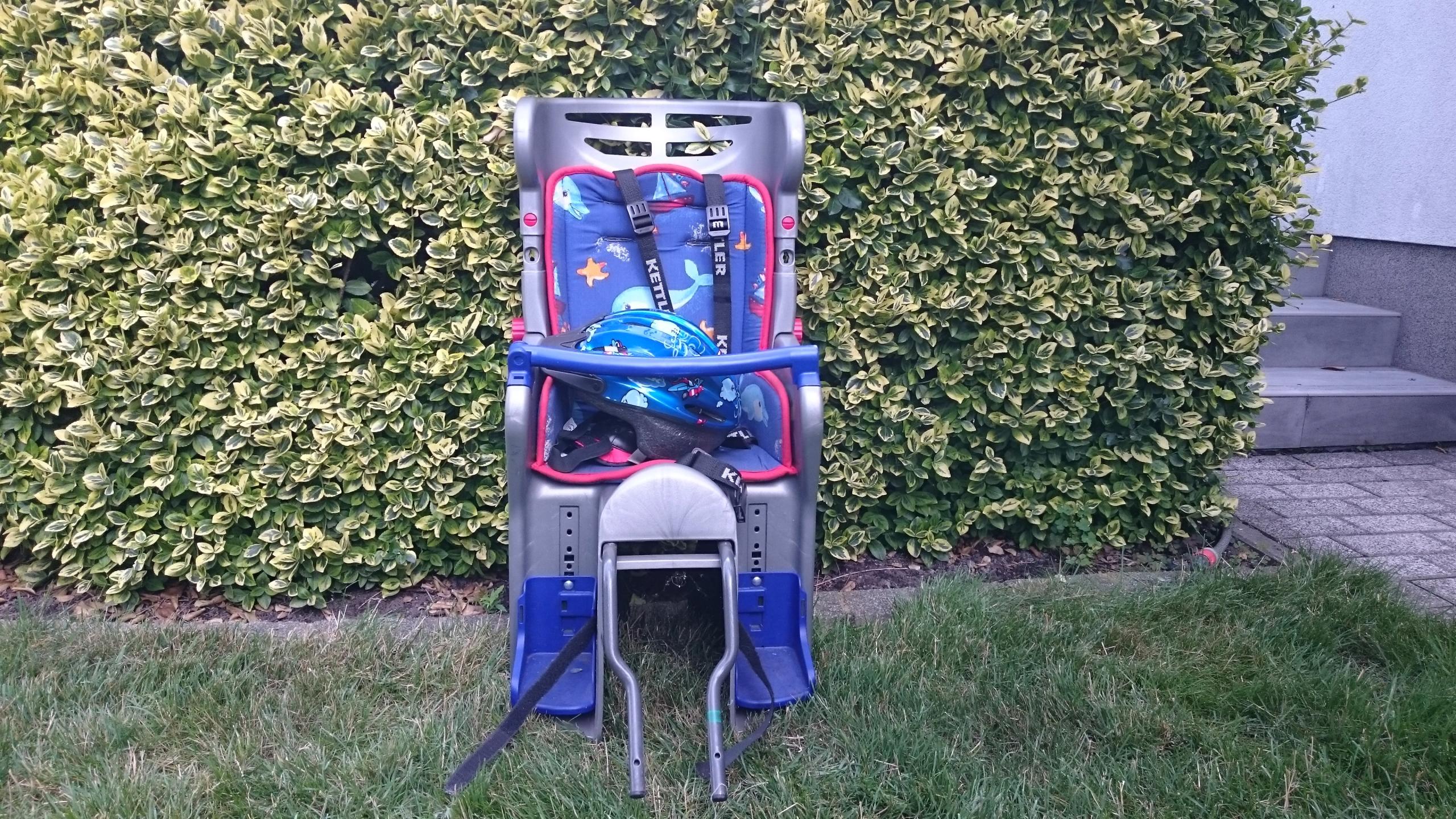 fotelik na rower dla dziecka kettler używany