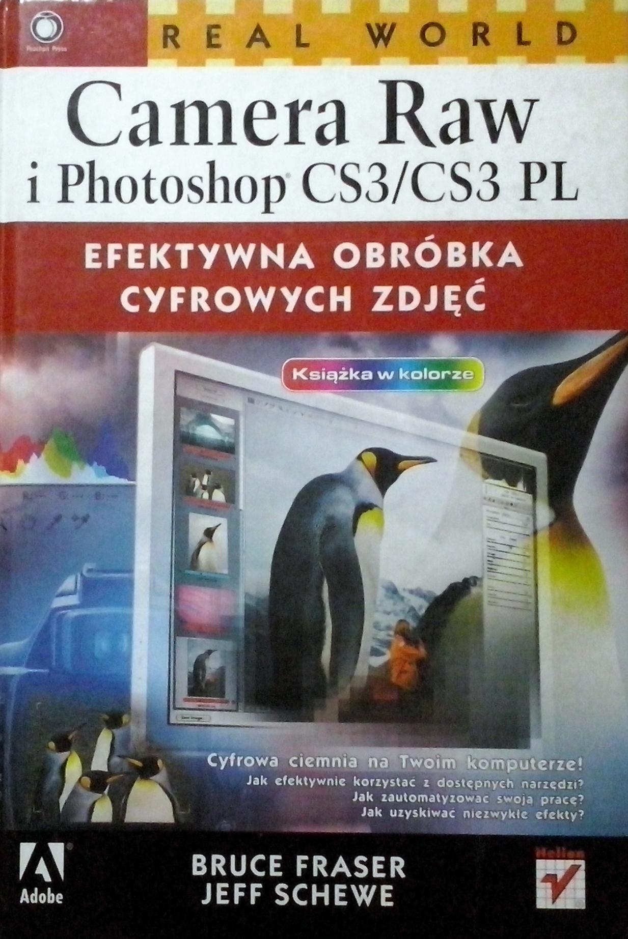 CAMERA RAW I PHOTOSHOP CS3/CS3 PL. FRASER. AR