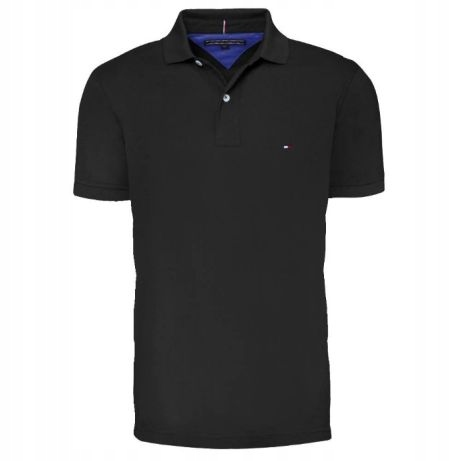 TOMMY HILFIGER __ LUXURY SOFT NEW POLO -xl czarna