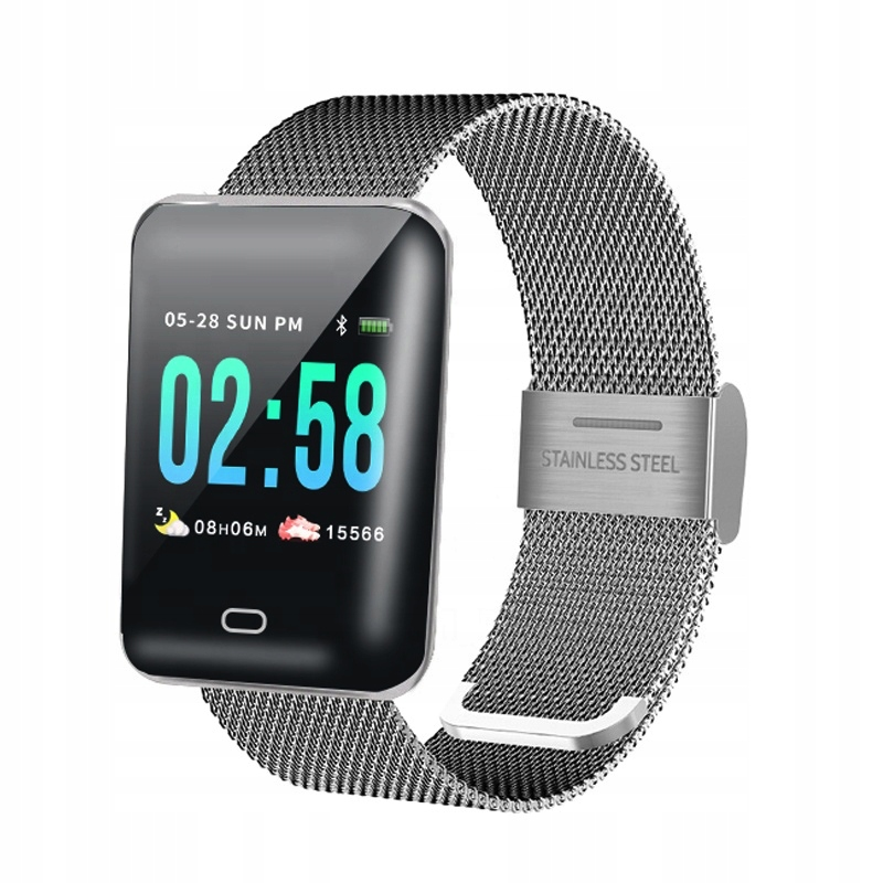 Zegarek damski SMARTBAND smartwatch bluetooth 4.1