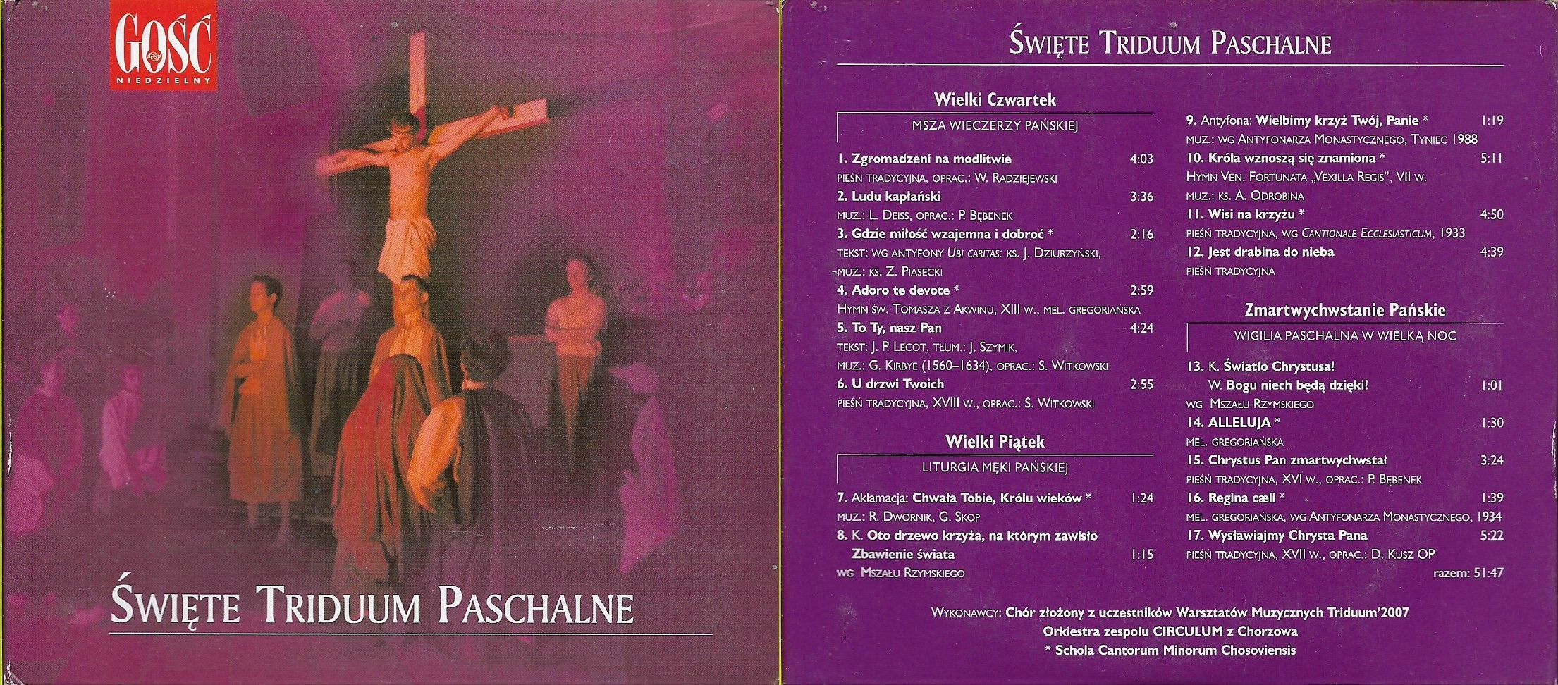 Święte Triduum Paschalne CD