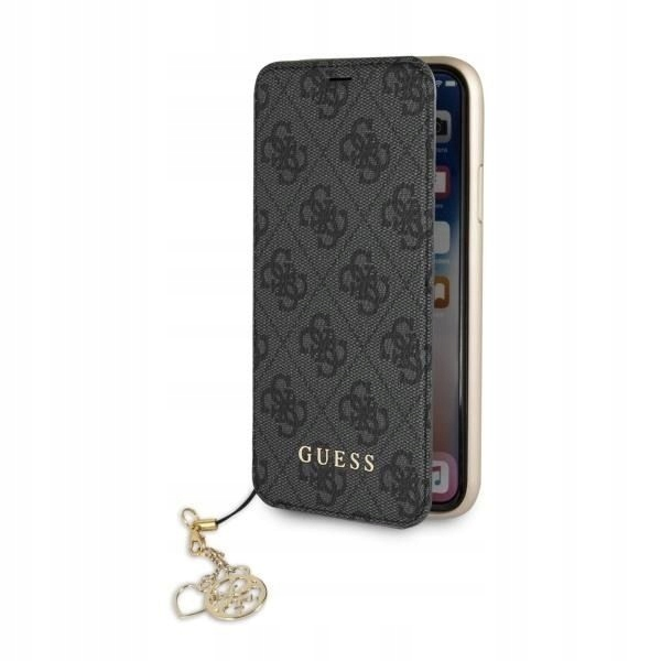 ETUI GUESS BOOK 4G CHARMS IPHONE 7 PLUS 8 PLUS